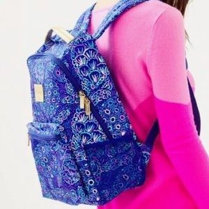 Lilly Pulitzer Bahia backpack EUC